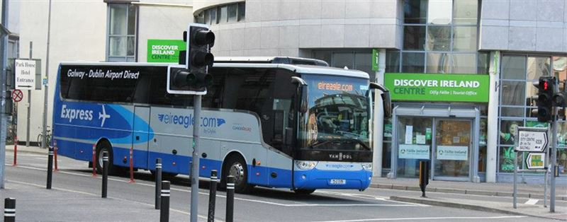 Buses from Galway to Dublin Airport